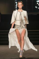 Sass &amp; Bide Catwalk Fitted with Windsor Velour Carpet for London Fashion Week